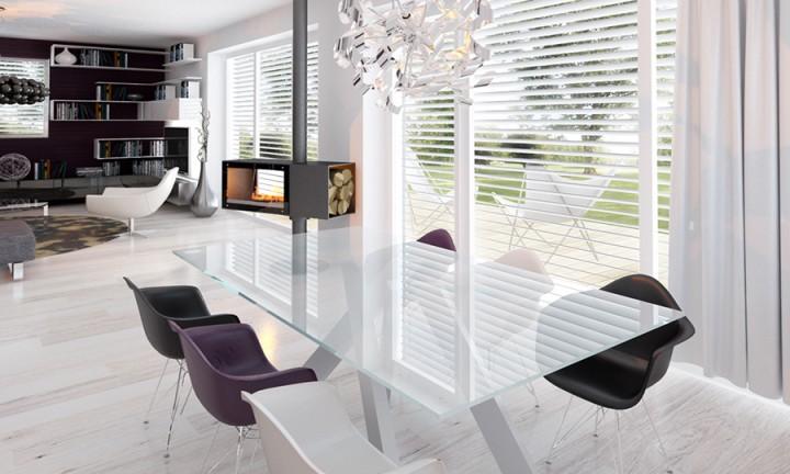 Interiér rodinného domu Senec 2012